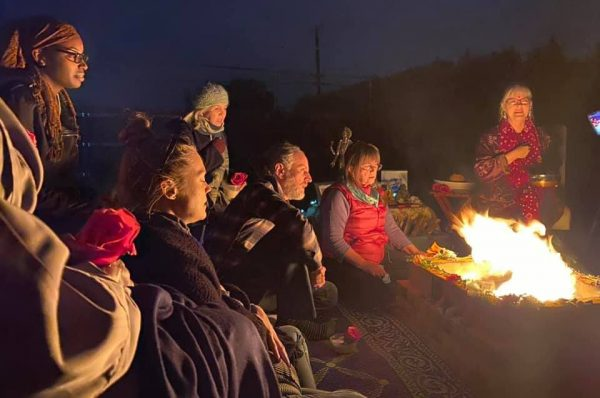 Full moon fire ceremony Brentwood