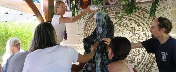 washing Baba in Felton