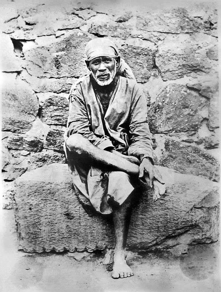 Shirdi Sai Baba Indian saint and healer