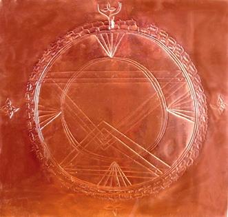 Sri chakra copper
