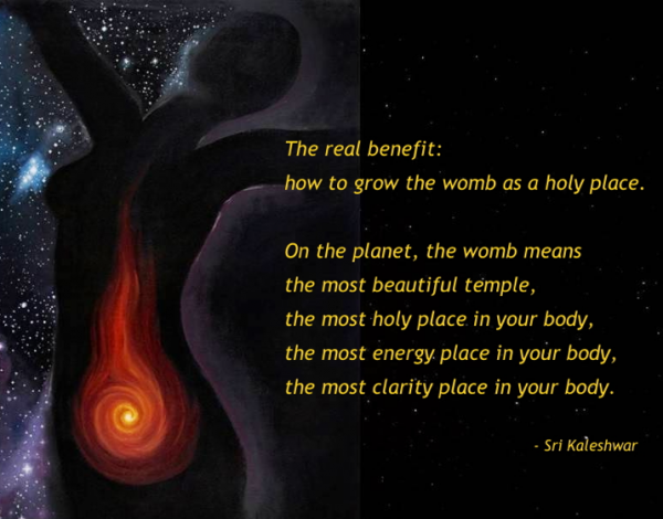 The Power Of The Holy Womb Chakra 1