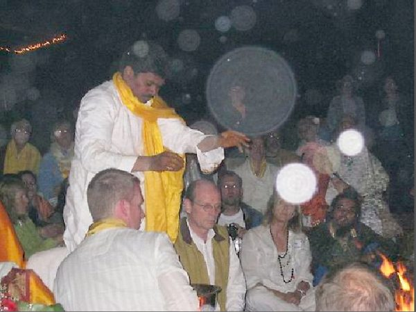 Angels orb fire home with Sri Kaleshwar