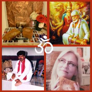 Group meditation process Los Angeles Guru Purnima 2021
